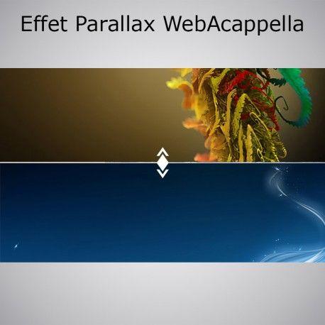 effet parallax