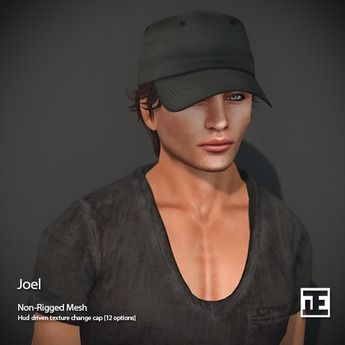 TRUTH HAIR Joel (Mesh Hair) - DEMO