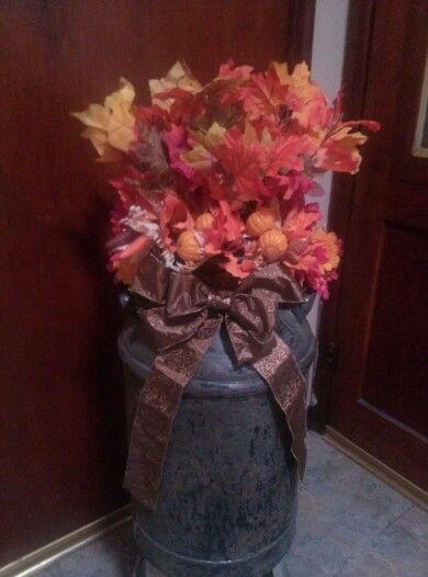 My Autumn Arrangement.