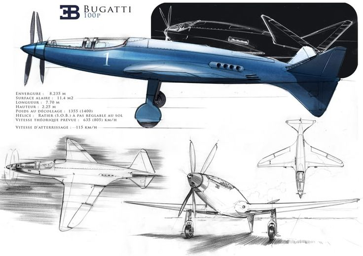 The Bugatti Model 100 was a purpose built air racer designed to compete in the 1939 Deutsch de la Meurthe Cup Race. The aircraft was not completed by the September 1939 deadline and was put in storage prior to the German invasion of France. In the Crimson Skies universe which seems a few years ahead this could form the base for a prototype plane.