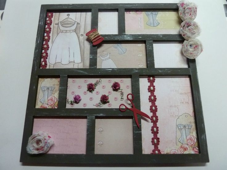 scrapbooking cadre photo pele mele loisirs cr atifs pinterest scrapbooking cadre photo. Black Bedroom Furniture Sets. Home Design Ideas