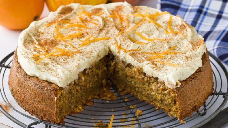 Morotskaka med apelsin – recept