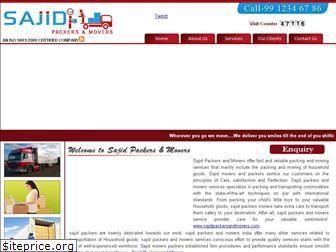 www.sajidpackersandmovers.in website price