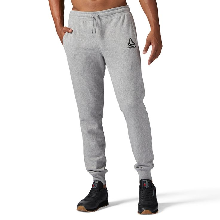 Boys 8-20 Reebok Stacked Jogging Pants, Size: Medium, Grey Other