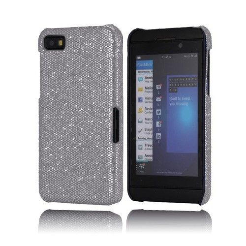 Glitter (Sølv) BlackBerry Z10 Etui