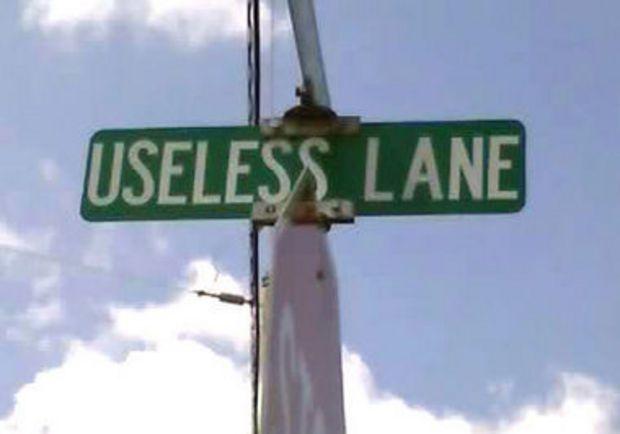Noe Way! More of Alabama's strangest street names