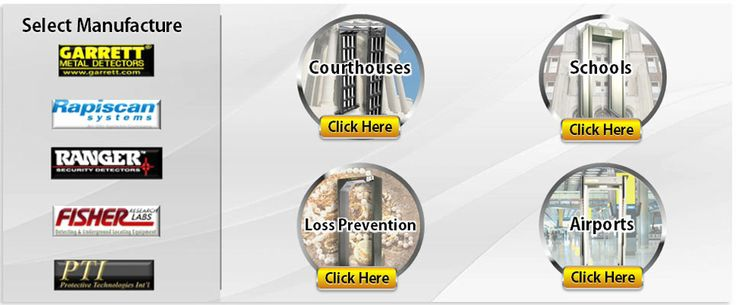 Advanced Metal Detectors for Schools, Courthouses and More http://www.pti-world.com/walk-through-detector/