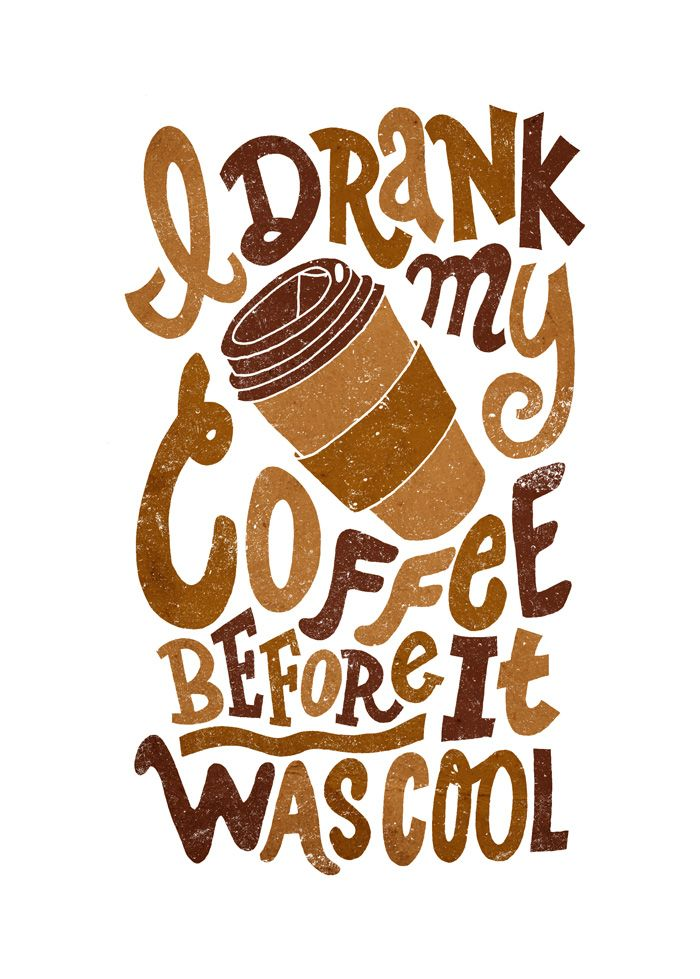 :)Cups Of Coffe, Typography Posters, Coffe Lovers, Milk, Drinks Coffee, Motivation Quotes, Mornings Coffe, Hipster Coffe, Kitchens Wall Art