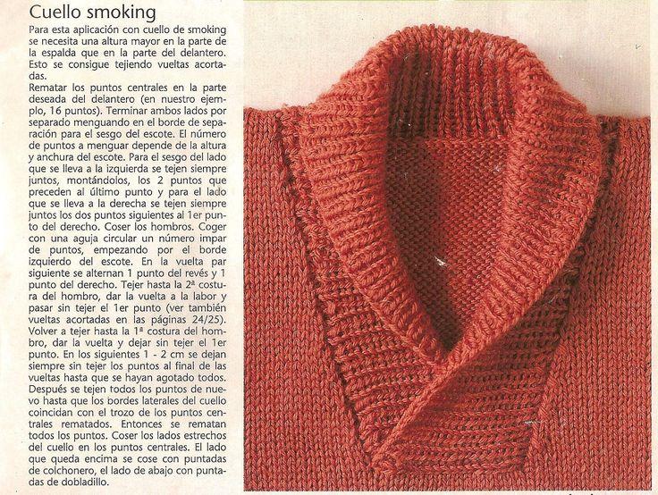 con esta explicación no podés decir que ahora no te sale el cuello smoking.