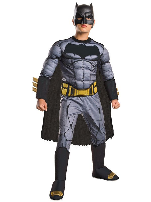 Check out Boy's Batman v Superman Deluxe Batman Costume - Wholesale Party Supplies from Wholesale Halloween Costumes