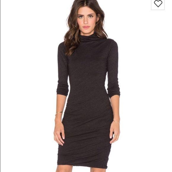 Velvet by Graham Spencer dress Velvet by Graham Spencer fitted black dress.  Worn once Velvet Dresses
