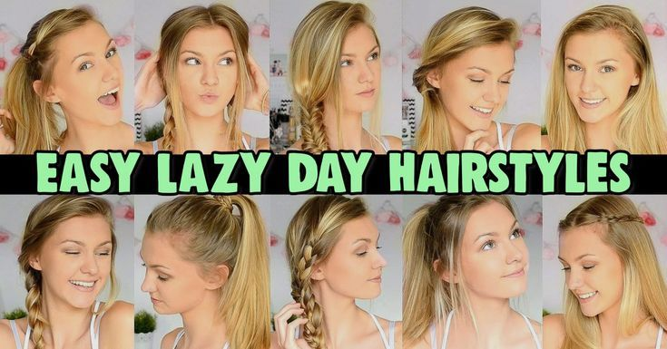 Hair Inspo For Simple Everyday Hairstyles – Lazy Hairstyles! Let's look at s...