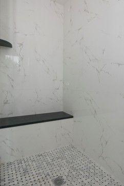 Marmol Carrara Blanco - traditional - bathroom tile - boston - Porcelanosa New England Shawn Buter