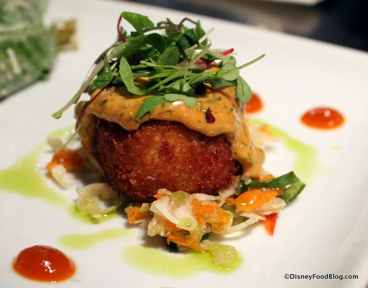 Crab Cake from Flying Fish Café - Boardwalk