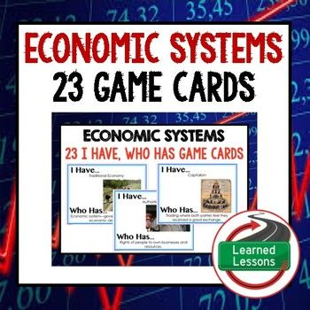 best economic systems ideas economics teaching  economic systems game cards economics and enterprise
