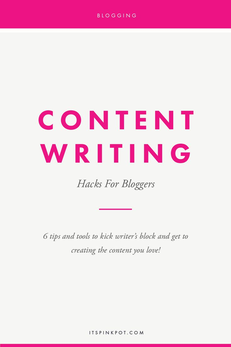 Down with writer's block or not able to make progress in writing content for your blog? We've all been there! Here are my top tips and tools to kick writer's block and get to doing the actual task for bloggers - writing content!