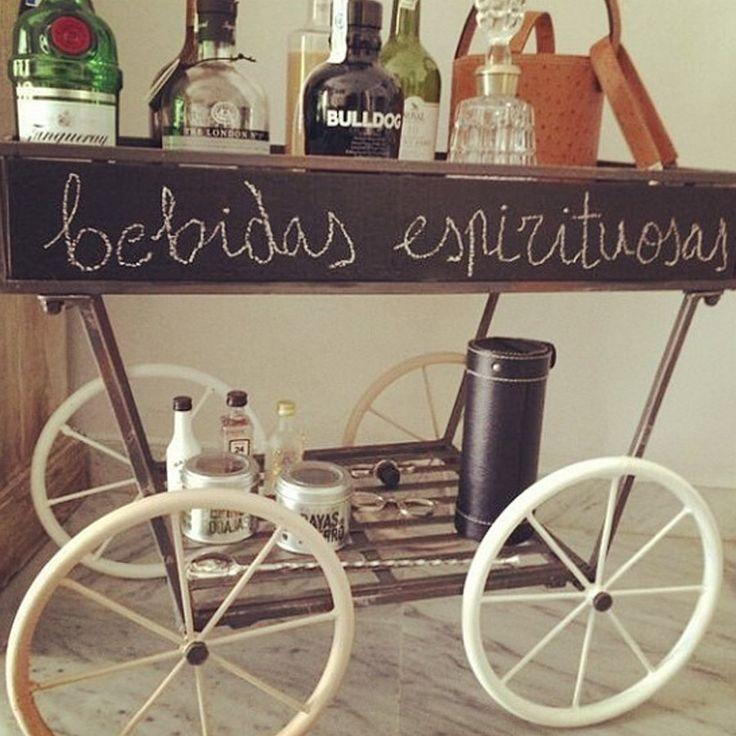 M s de 1000 ideas sobre carro de bebidas en pinterest camarera carritos de bar y cesta de t - Carrito bebidas ...