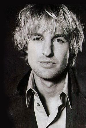 Owen Wilson - I love her hair .. and the rest :p