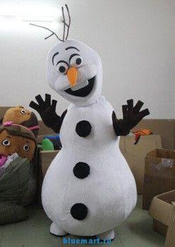 Ростовая кукла снеговик Олаф, купить в BlueMart.ru