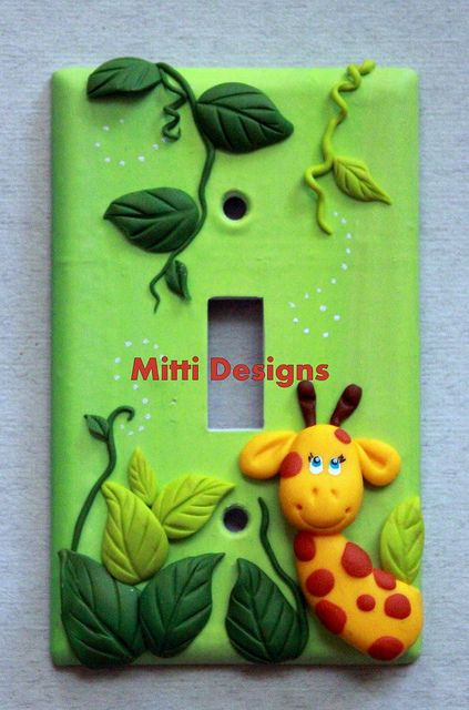 jungle switch plate cover