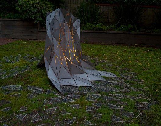 Ravee's Rupture sculpture