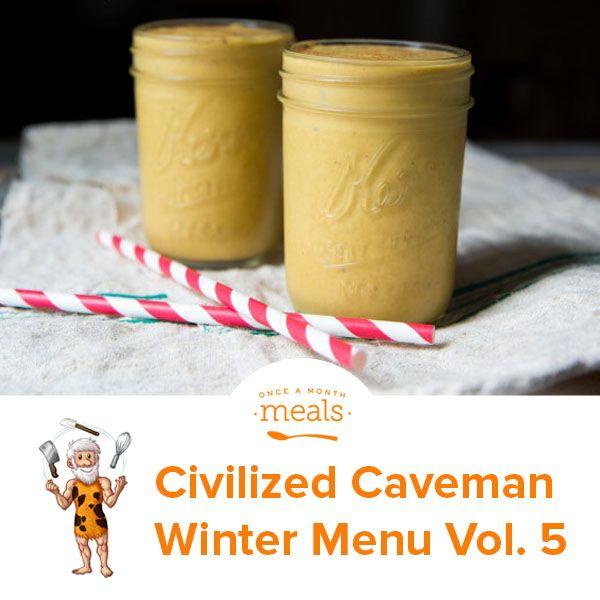 Civilized Caveman Winter Menu Vol. 5 via @onceamonthmeals
