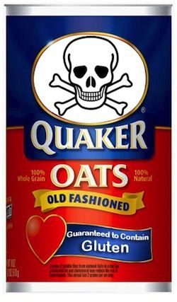 Must use certified gluten-free oats.  Otherwise they are very likely contaminated with wheat.