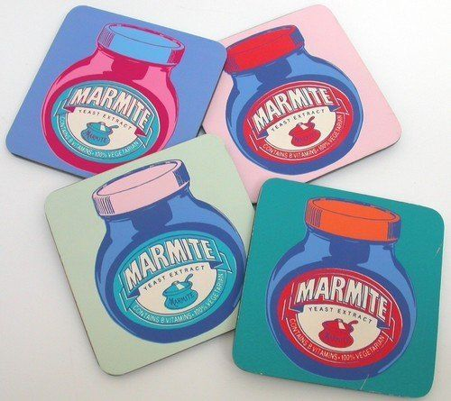 Marmite Pop Art Design Set of 4 Coasters by Marmite, http://www.amazon.co.uk/dp/B0035FVHHM/ref=cm_sw_r_pi_dp_.tdxsb0YVHT8B
