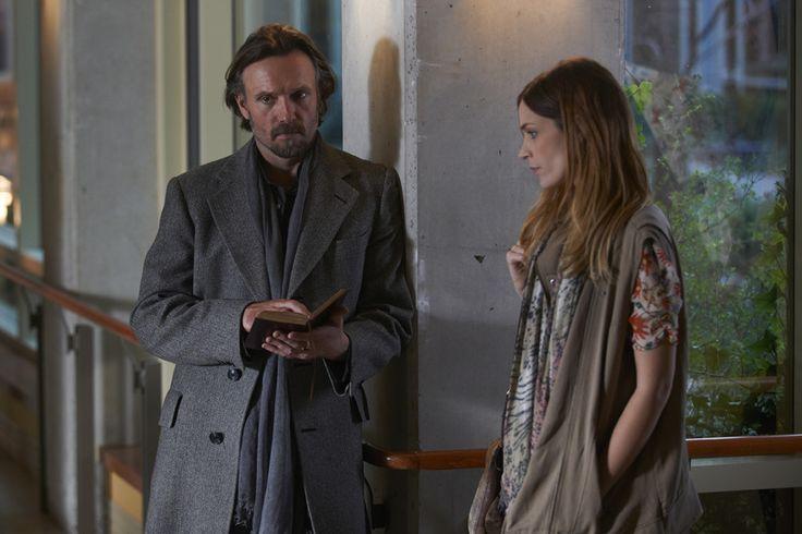 Alphas- Stanton Parish (John Pyper-Ferguson) and Danielle Rosen (Kathleen Munroe)...