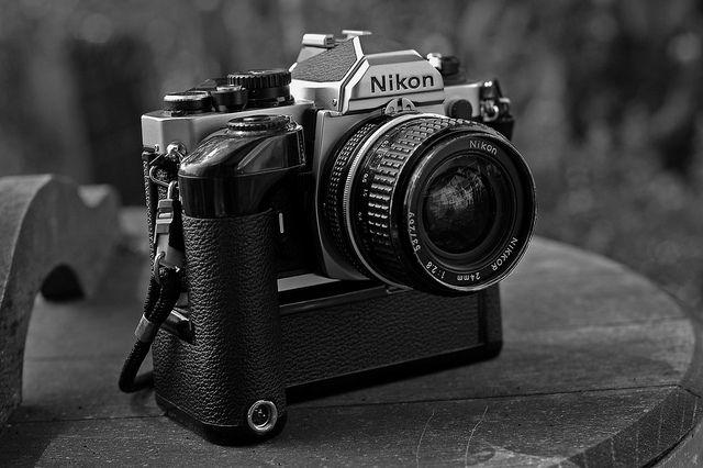 nikon FM-2 with MD-4 by bas2006, via Flickr
