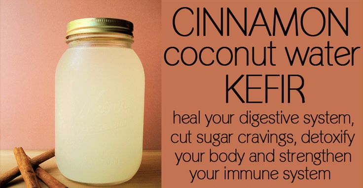 Delicious Cinnamon Coconut Water KEFIR