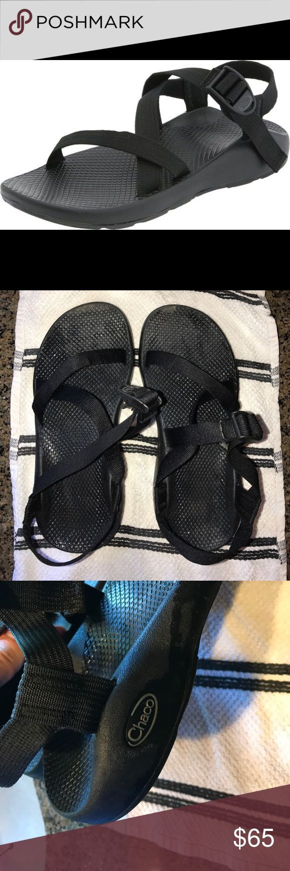 Women's Chaco Sandals Water Resistant - size 10 Excellent used condition; there is a little bit of dirt on the top & bottom - can usually be washed out; great for hiking & other outdoor activities!; feel free to make a reasonable offer!💕💕 Chacos Shoes Sandals