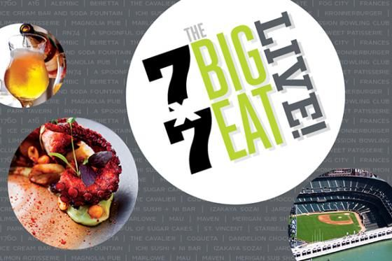 SOLD OUT: 30+ Top SF Restaurants Take the Field at AT&T Park for The Big Eat Live | 7x7
