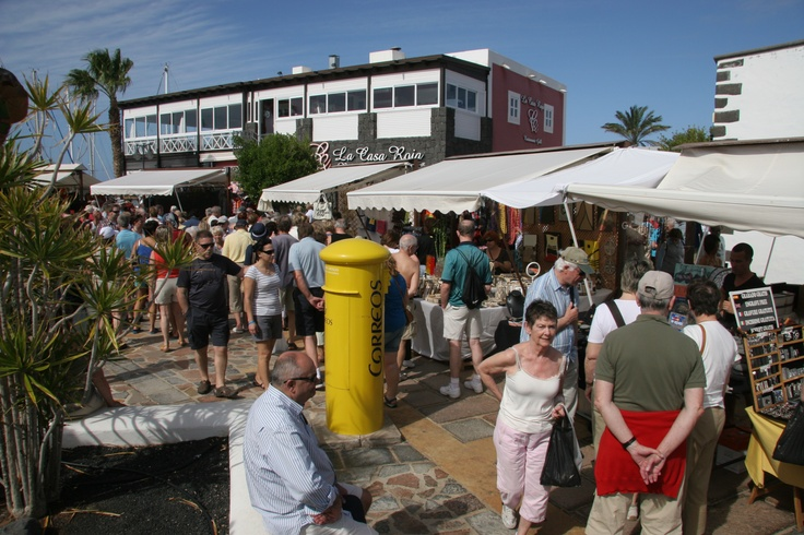 SHOPPING. Playa Blanca Market. Held twice a week in the Marina Rubicon, this small scale artisan market is the antithesis to your typical, tacky tourist market. With only around 30 stalls, don't be fooled into thinking that because it offers a limited selection of goods it doesn't