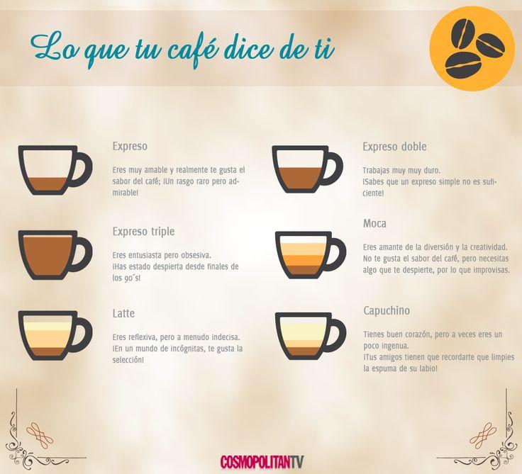 ¡Lo qué tu café dice de ti!