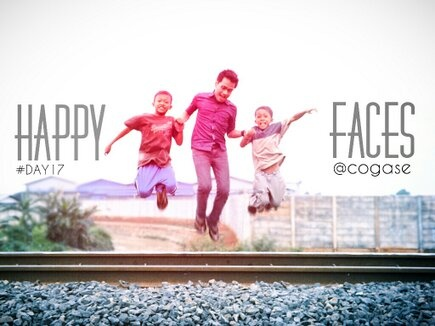 #30DaysChallenge Day 17: Happy Faces by @Yoshie Ikebe Adi