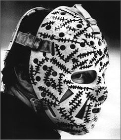 The coolest goalie mask ever - Gerry Cheevers