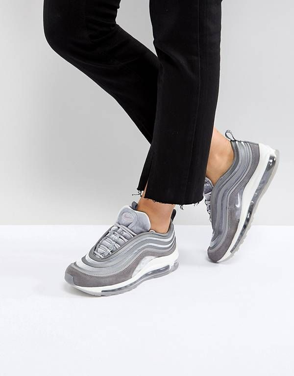 Nike Air Max 97 Ultra '17 Velvet Trainers In Grey | Nike air