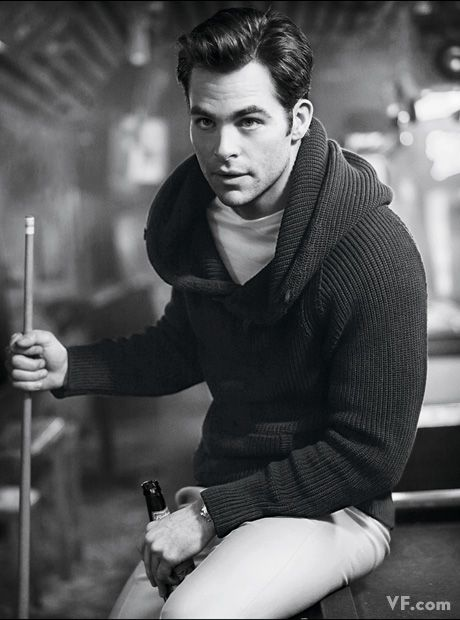Chris Pine Gives Good Face Chris Pine poses for a Vanity Fair photoshoot 4 – Socialite Life