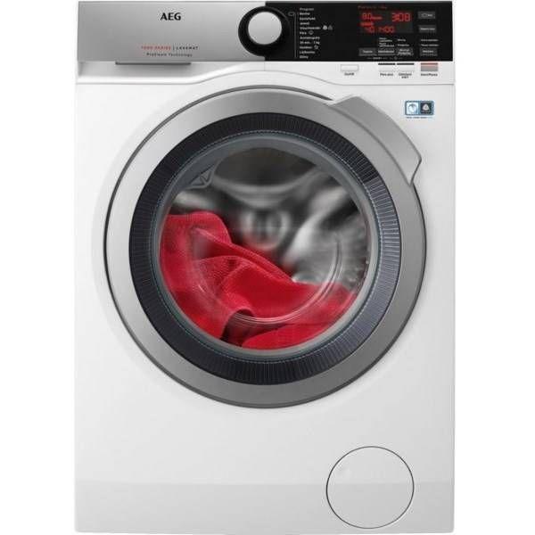 Automatická práčka AEG ProSteam® L7FEE68SC biela