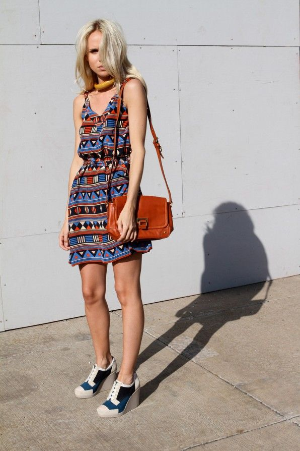 Love: Shoes, Minis Dresses, Fashion Style, Cute Dresses, Awesome Dresses, Tribal Prints Dresses, The Dresses, Leather Bags, Elin Kling