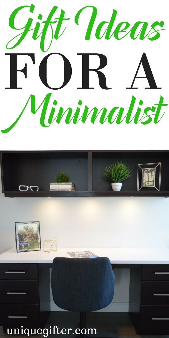 Gift Ideas for a Minimalist | Clutter-free gifts | Junk free gifts | how to celebrate without lots of stuff | Minimalism presents | Birthday and Christmas gifts for minimalists