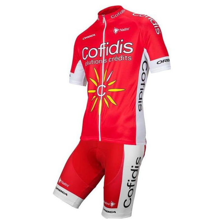 The Nalini Cofidis Red Team kit, with the design of the Cofidis team, is durable, comfortable and ensures an easy recovery.  #nalini #retto #cofidisteam