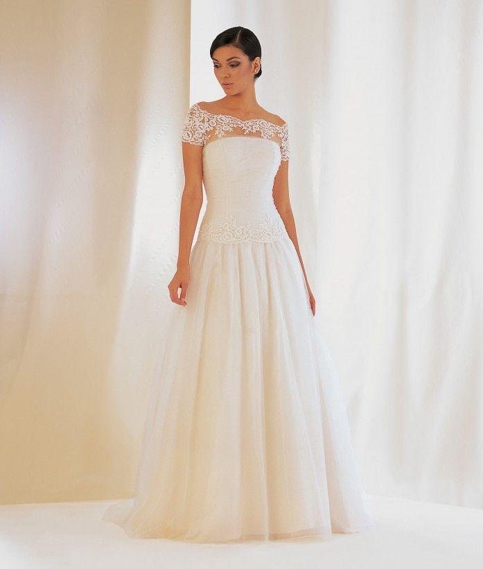 Model: Judit - Collezione Chanel di Gloria Saccucci Spose