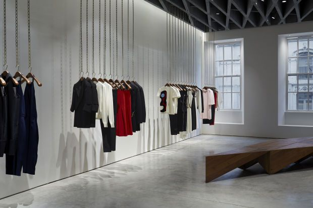 Victoria Beckham's first store | located on Dover Street