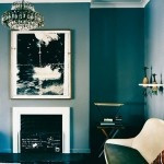 Modern Marrakech from Lonny via SF Girl by Bay: Wall Colors, Teal Wall, Wall Colour, Blue Wall, Interiors, Paintings Colors, Dreams House, Teal Living Rooms, Vogue Living