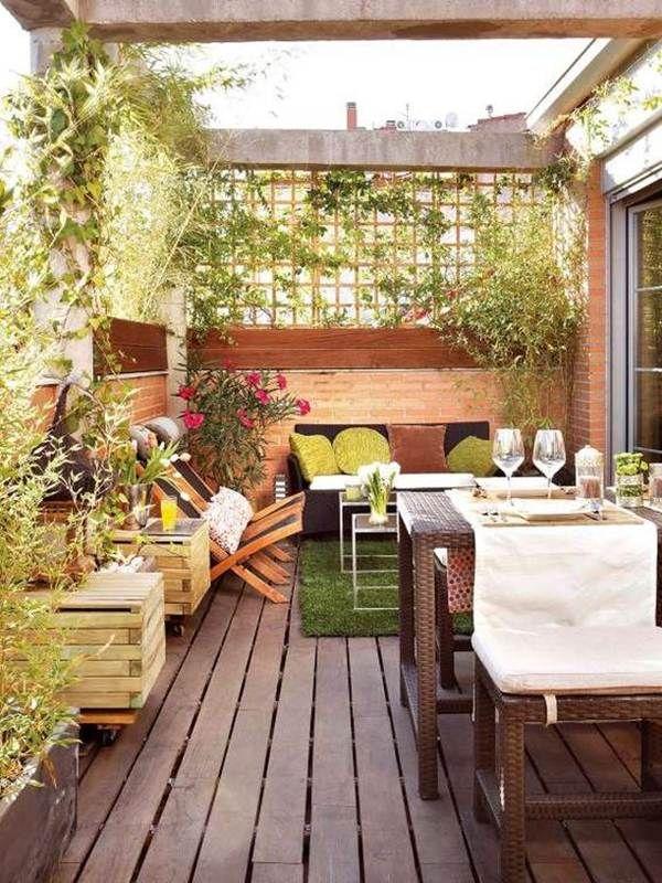 ideas para decorar balcones o terrazas