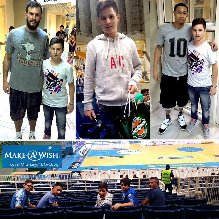 Στέφανος, 14... Θέλω να παρακολουθήσω αγώνα μπάσκετ του Παναθηναϊκού!