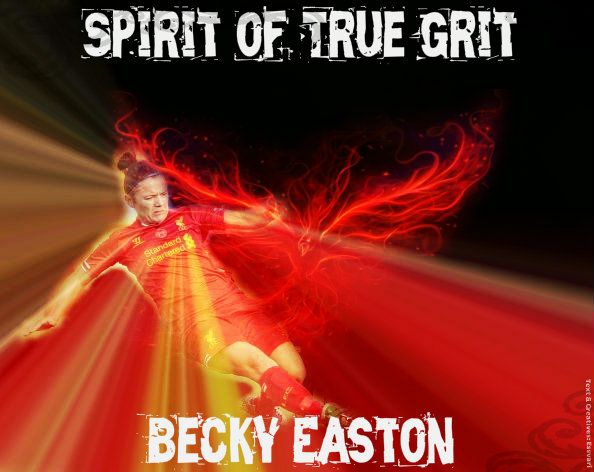 Becky Easton #12... She's a 'Carra' in LFC Ladies squad...