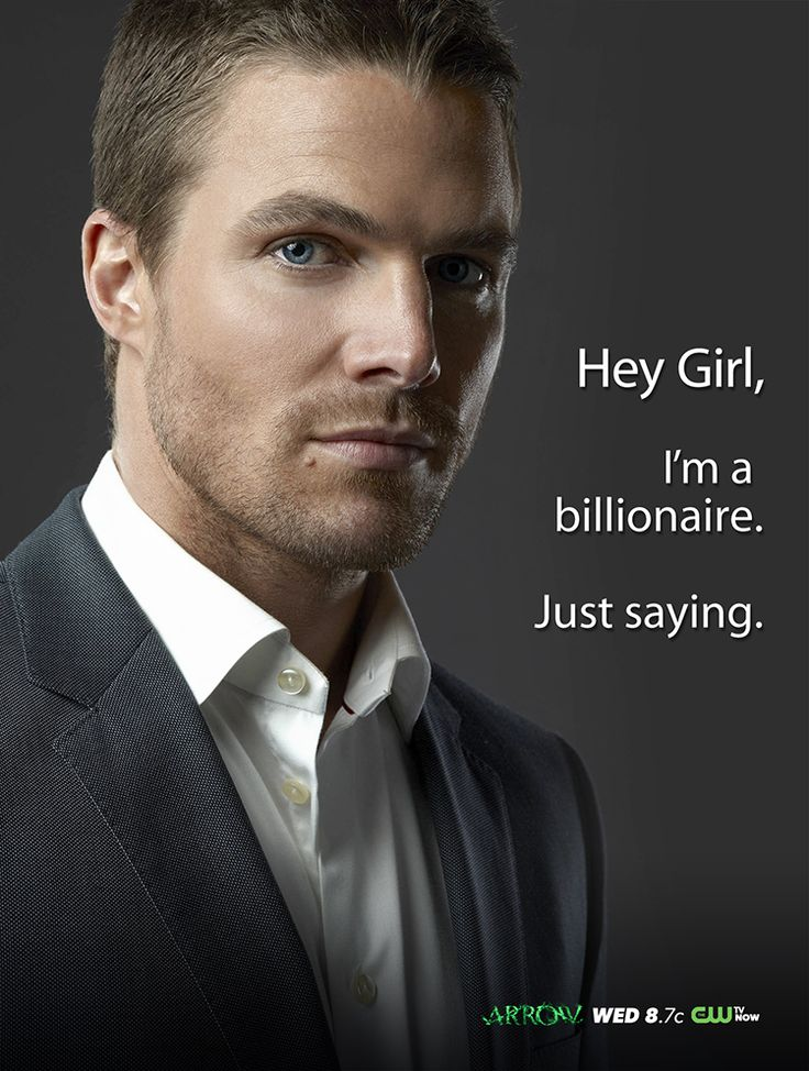 Stephen Amell. Yes, I'm sure he could pull it off actually ...
